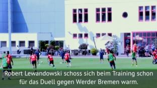 Traumtor! Lewandowski bereit für Werder
