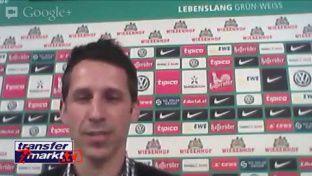 """Werder-Manager Eichin steht Rede und Antwort im """"Hangout"""""""
