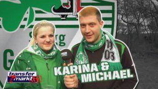 Fan der Woche: Karina und Michael (Greuther Fürth)