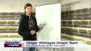 Die Traumelf von Holger Wehlage