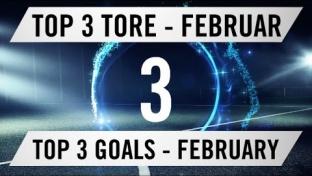Top 3 Tore des Monats aus Hamburg - Februar 2016