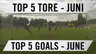Top 5 Tore ELBKICK.TV - Juni 2016