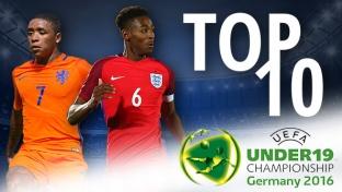 Top 10: Die wertvollsten Spieler der U19-EM