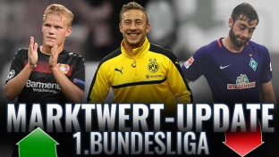 Marktwert-Update Bundesliga: Plus für Passlack & Pohjanpalo