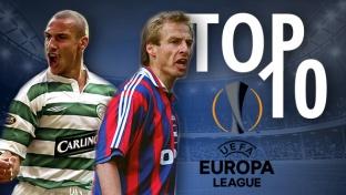 Top 10: Ewige Torschützenliste der Europa League