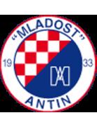 Mladost Antin