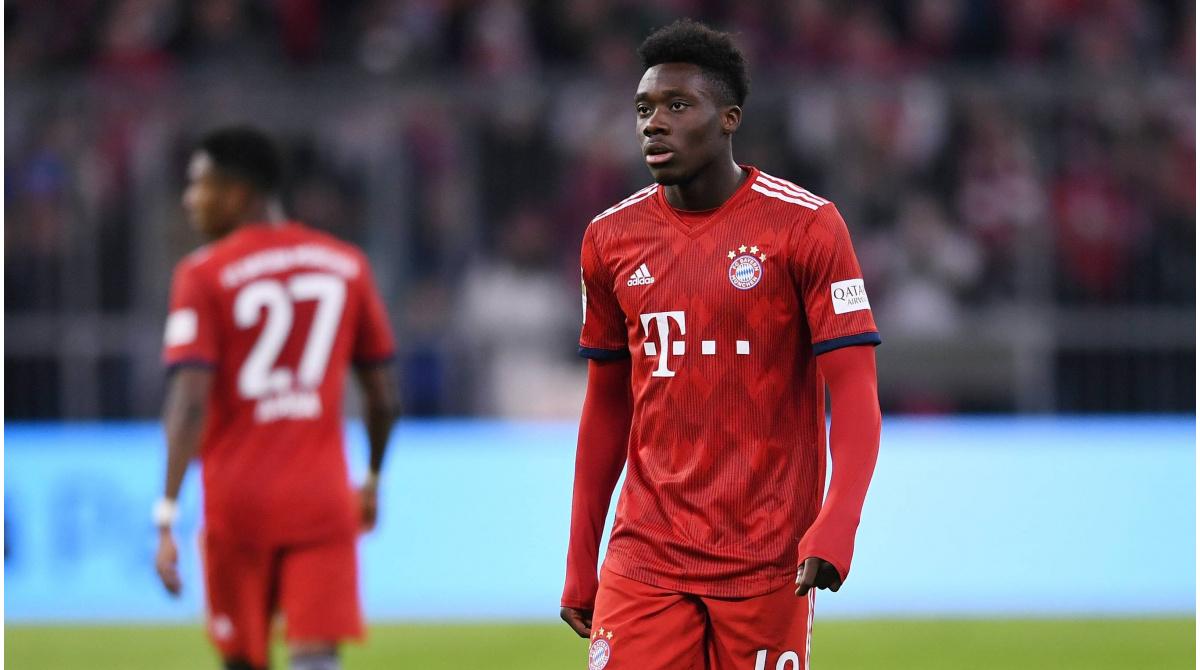 Bayern Munich sign Alphonso Davies to long-term contract - Second ...