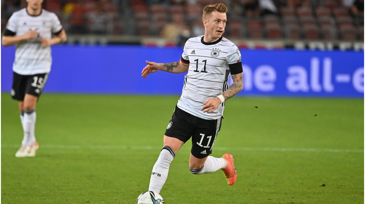 """Photo of DFB-Team ohne Reus nach Island – Verzicht auf Baku """"hat nichts mit seiner Leistung zu tun""""   Marie-Theres Schwabe"""