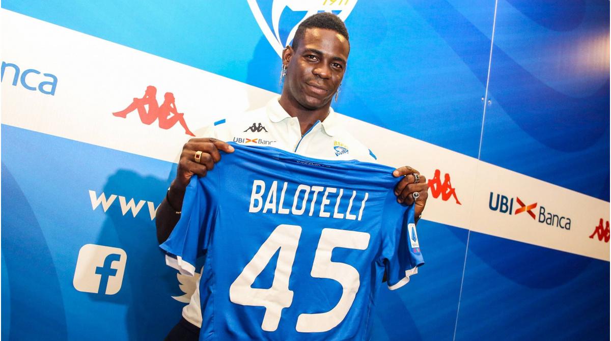 Brescia heeft genoeg van fratsen en ontslaat spits Balotelli ...