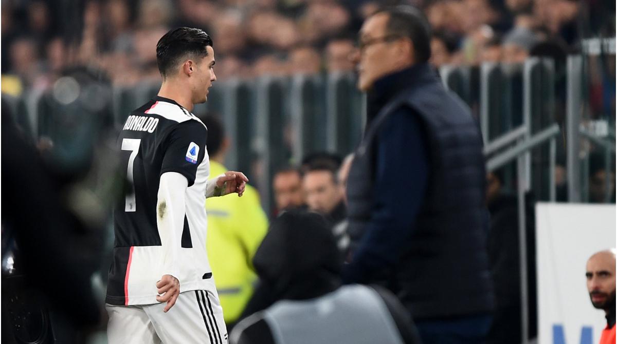 Cristiano Ronaldo Bei Juventus Kontroverse Ausgelost Die