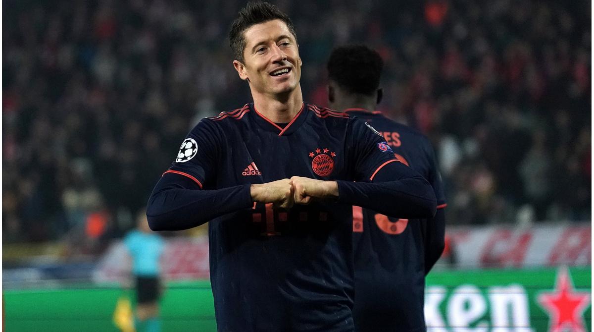 Fc Bayern Lewandowski Berater Bayer Leverkusen Sah Ihn
