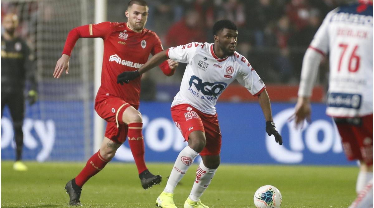 Kortrijks Moffi Vor Wechsel Nach Lorient 5 000 Prozent Preissteigerung In 9 Monaten Transfermarkt