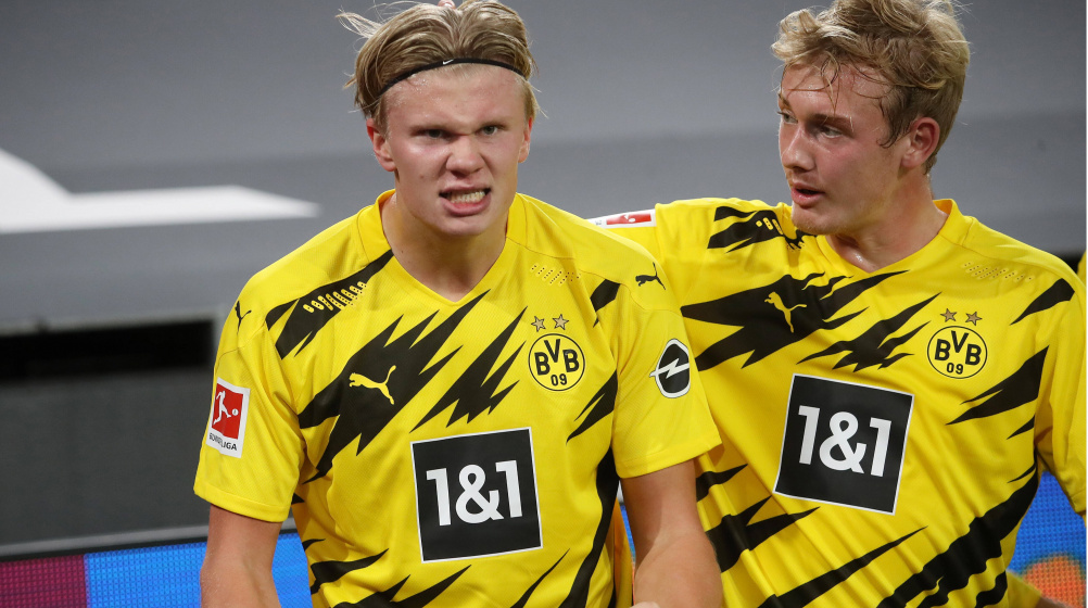 Man United Target Haaland Bvb Confirm No Exit Clause Confident Of Extension Transfermarkt