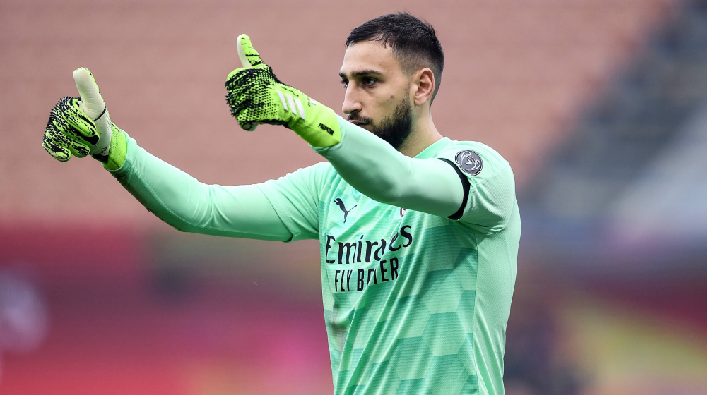Donnarumma Wants To Extend Milan Contract Over 200 Appearances At Age 21 Transfermarkt