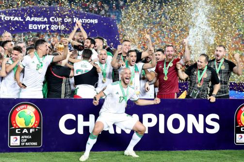 Algerien gewann den Africa Cup 2019 mit nur einem Spieler der der Ligue Professionnelle.