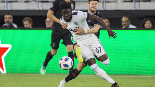 Unstoppable - Alphonso Davies playing for the Vancouver Whitecaps in Major League Soccer