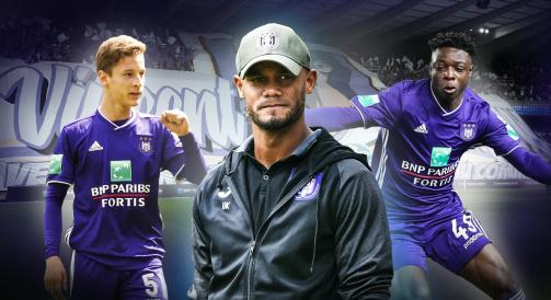 Vincent Kompany now manages RSC Anderlecht