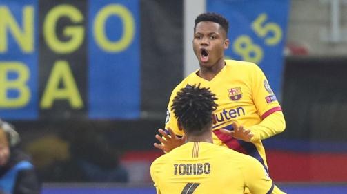 Ansu Fati se convierte en el jugador sub-18 más valioso del mundo.