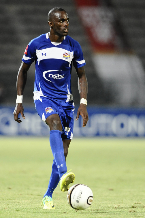 Anthony Laffor representing Supersport United in the 2010/11 season