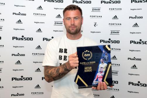 Artur Boruc z nagrodą Transfermarkt dla najlepszego piłkarza Ekstraklasy 2020/21