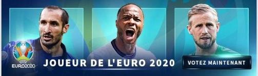 Votez maintenant pour le joueur de l'Euro 2020