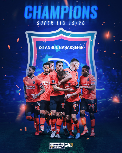 Süper Lig champions 19/20  - Check out Basaksehir's title-winning squad