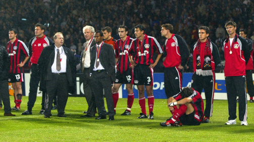 Galerie: Die legendäre Mannschaft von Bayer Leverkusen 2001/02