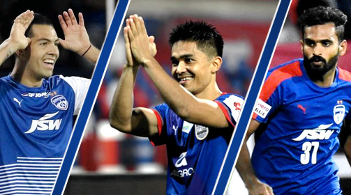 GALLERY: All-Time Top Scorers for Bengaluru FC