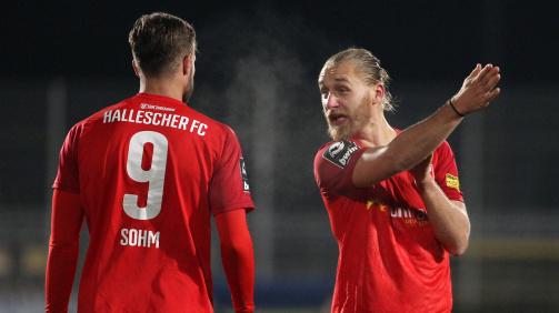 Beim Halleschen FC reifte Jopek zum Führungsspieler