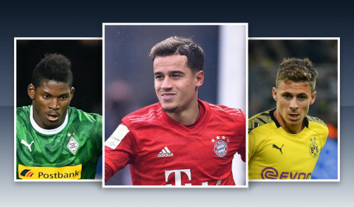 Bundesliga goals by new signings