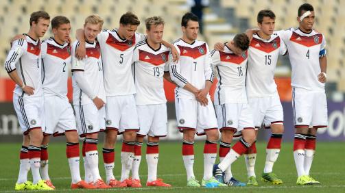 Aus im Viertelfinale: Das deutsche Team bei der U20-WM 2015