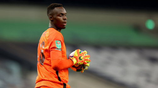 Edouard Mendy is a calming reassurance between the sticks at Chelsea