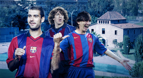 Messi, Puyol & Co. - The players and future talents from La Masia