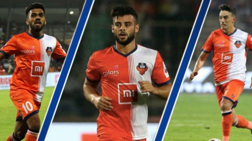 Most Goals by FC Goa Midfielders