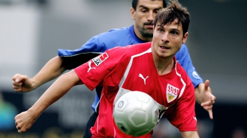 Imre Szabics stand für den VfB Stuttgart zwischen 2003 und 2005 insgesamt 73-mal auf dem Platz und traf dabei 22-mal