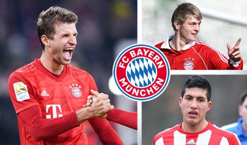 Müller, Can & Co.: Die heute wertvollsten Spieler aus der Bayern-Jugend