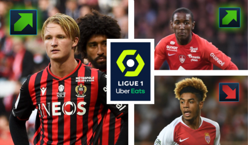 New values: €4 million plus for Dolberg, 4th minus for Monaco talent Geubels