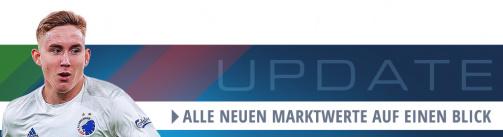 Auch Island-Talent Jóhannesson legt zu: Alle neuen Marktwerte der Superligaen auf einen Blick