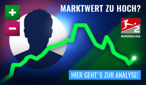 © Transfermarkt - Marktwerte zu hoch, zu niedrig, wer felt? Diskutiere in der Marktwertanalyse mit - Link