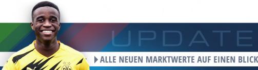 Hier gibt's alle neuen Bundesliga-Marktwerte auf einen Blick