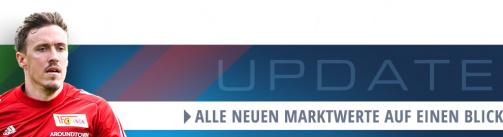 Alle neuen Bundesliga-Marktwerte in der Übersicht
