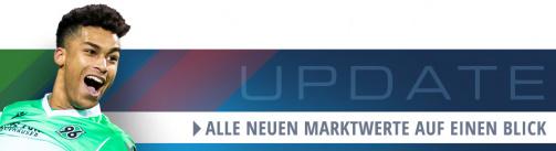 Alle Marktwerte-Änderungen in der 2. Bundesliga