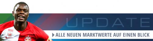 Bundesliga-Update: Die neuen Werte in der Übersicht