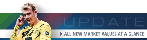 Brandt & Co. - All new Bundesliga market values