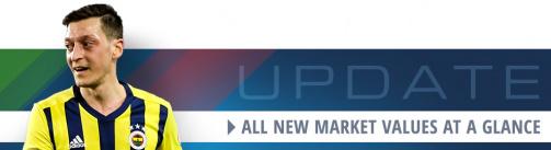 Özil & Co. - All new Süper Lig market values at a glance