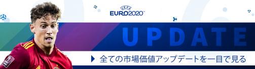 EURO 2020グループE市場価値