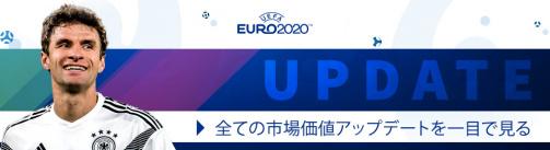 EURO 2020グループF市場価値