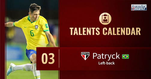 Patryck - Left Back São Paulo