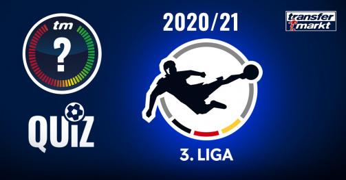© Transfermarkt - Was weißt du über die Drittliga-Saison 20/21? Teste dein Wissen in unserem Quiz!