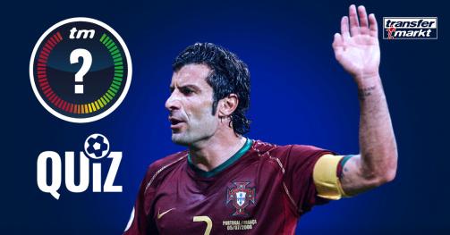 Transfermarkt-Quiz: Beantworte 10 Fragen zu Luís Figo